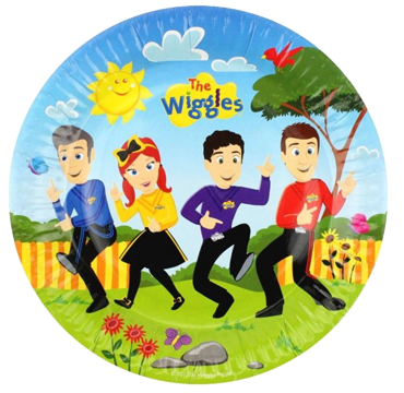 The Wiggles Party Plates