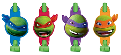 TMNT Party Blowers NZ