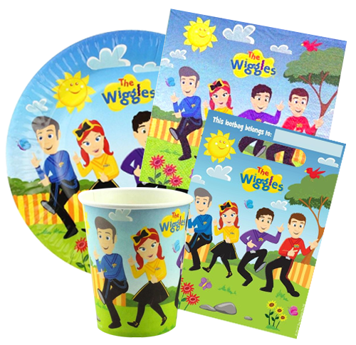 The Wiggles Party Pack 40pcs
