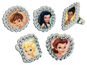 Tinkerbell Jewel Rings