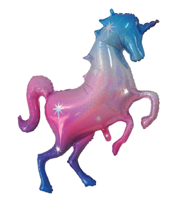 Large Unicorn Shaped Foil Balloon NZ