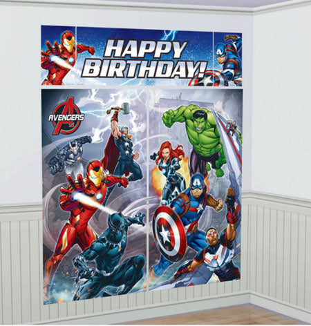 The Avengers Happy Birthday Scene Setter