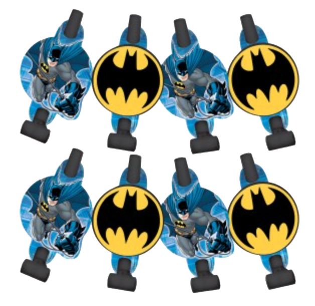 Batman Party Blowouts pk8