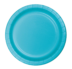 Bermuda Blue Large Party Plates pk24