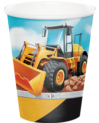Big Rig Construction Party Cups