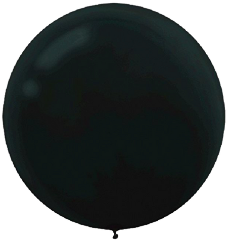 Black 60cm Balloon