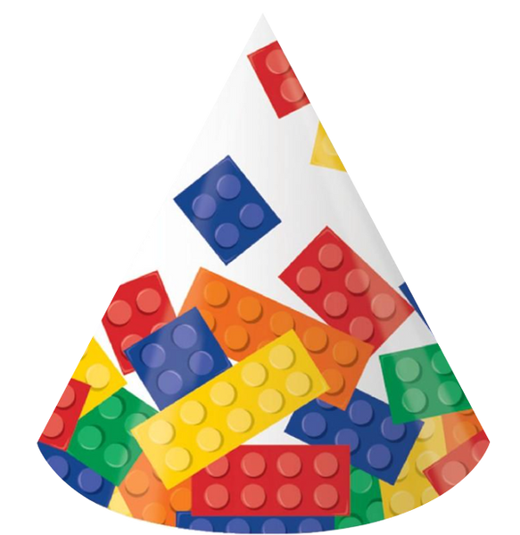 Block Lego Party Hats