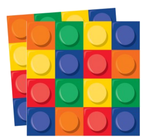 Lego Block Party Napkins