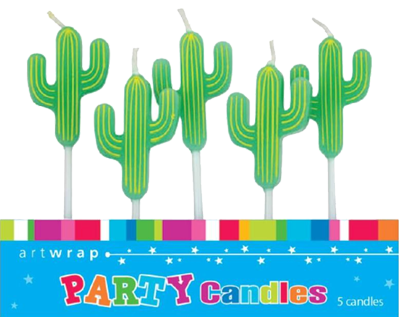 Cactus Party Candles