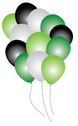 Camo Balloons Party pack 16