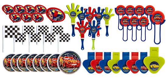 Cars 3 Mega Party Favour Pack