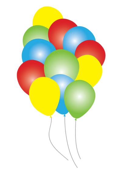 Circus TIme Party Balloons