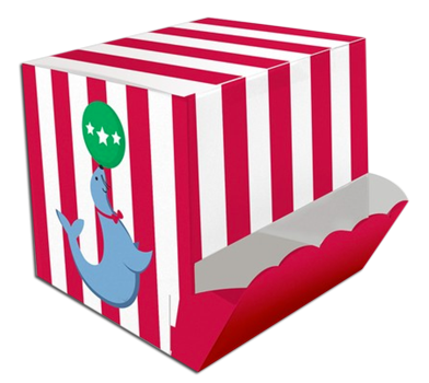 Circus Time Treat Boxes