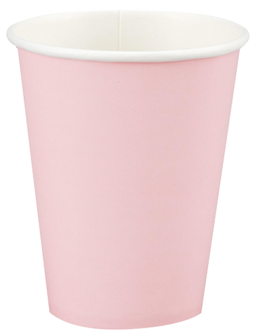 Classic Pink Party Cups 24per pkt
