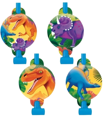 Dinosaur party Blowouts