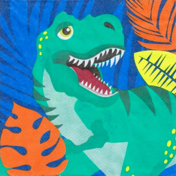Dinosaur Roar Party Napkins NZ