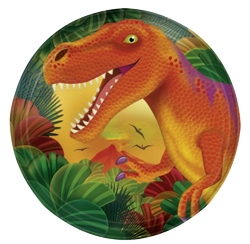 Dinosaur Small Party Plates NZ