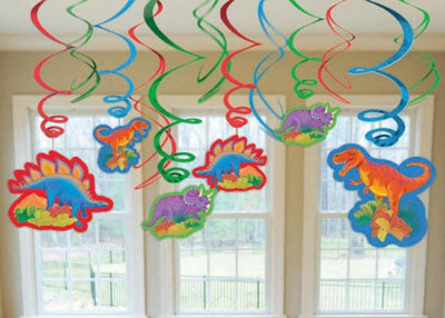 Dinosaur Swirl Hanging Decorations NZ