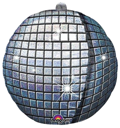 Disco Ball 3D Holographic Foil Balloon