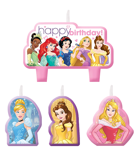 Disney Princess Candles