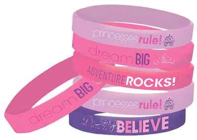 Disney-princess-rubber-bracelets NZ