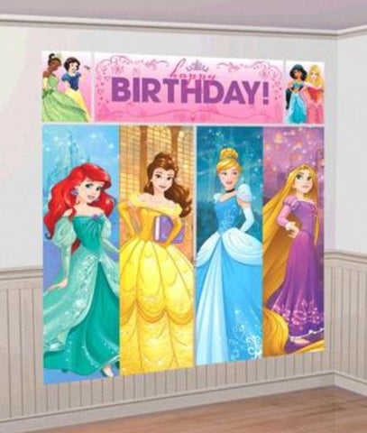 Disney Princess Scene Setter Wall Decoration
