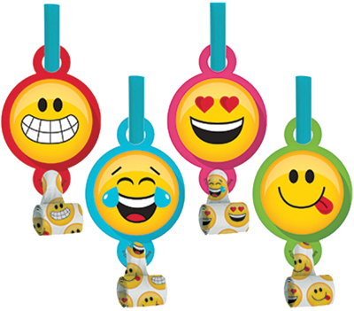Emoji Party Blowouts