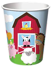 Farmyard Fun Party Cups