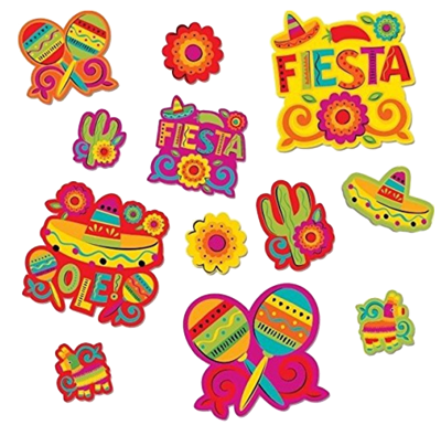 Fiesta Party Cut Outs