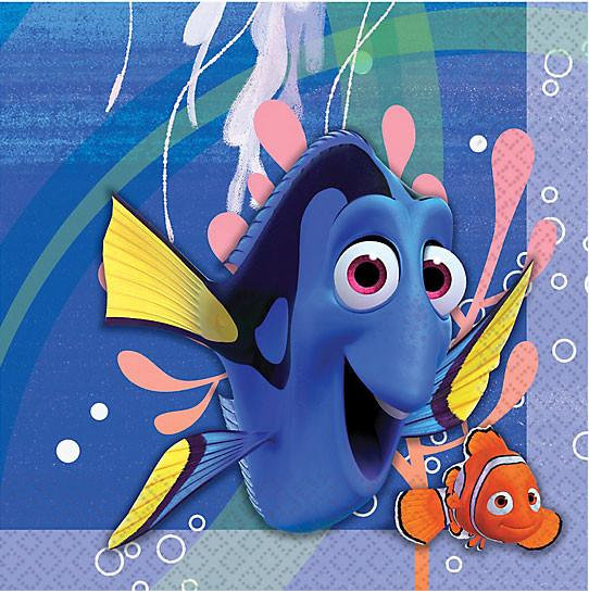 Finding Dory Lunch Napkins