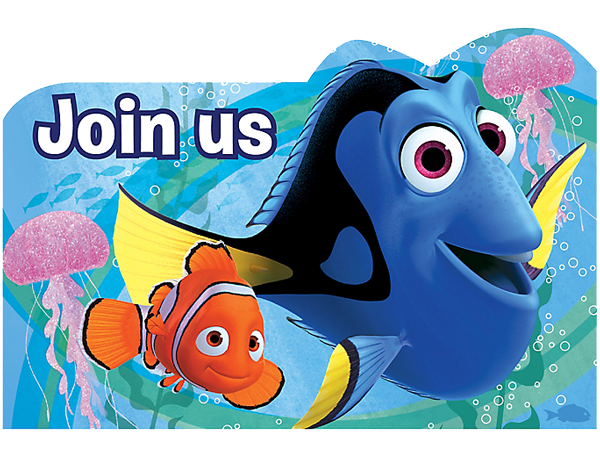Finding Dory Party Invitations