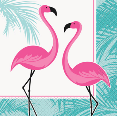 Flamingo Fun Party Napkins