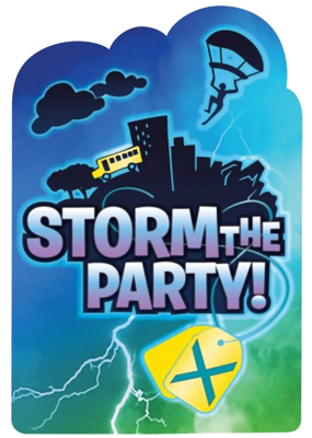 Fortnite Party Invites NZ