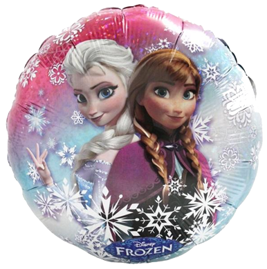 Frozen Elsa and Anna Foil Balloon Auckland