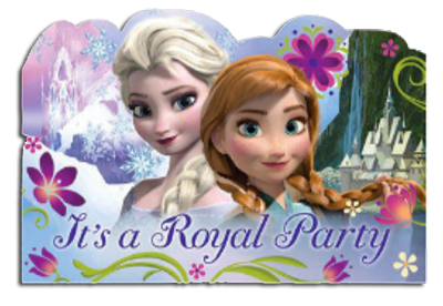 Frozen Party Invitations for your Frozen party.