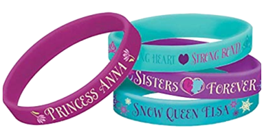 Frozen Rubber Bracelet Party Favours