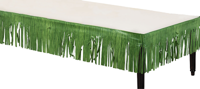 green grass fringe banner decorations nz