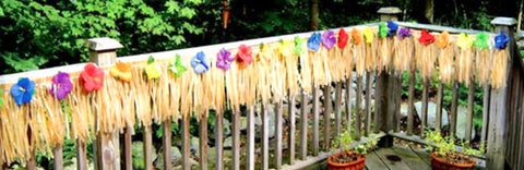 Hawaiian Fringe Decoration NZ