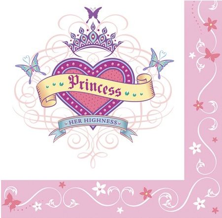 Her Highness Princess napkins