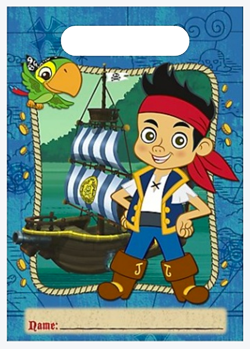 Jake and the Never Land Pirates Loot Bags