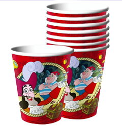 Jake and the Never Land Pirates Party Cups