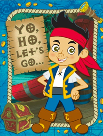 Jake and the Never Land Pirates Party Invites