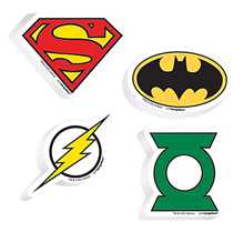 Justice League Erasers Favours