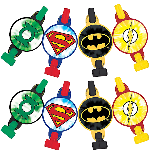 Justice League Party Blowers