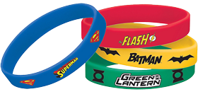 Justice League Rubber Bracelets