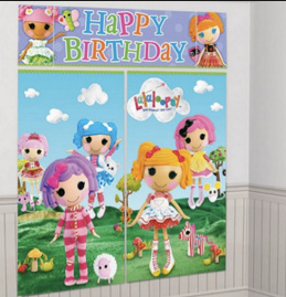 Lalaloopsy Scene Setter Decoration