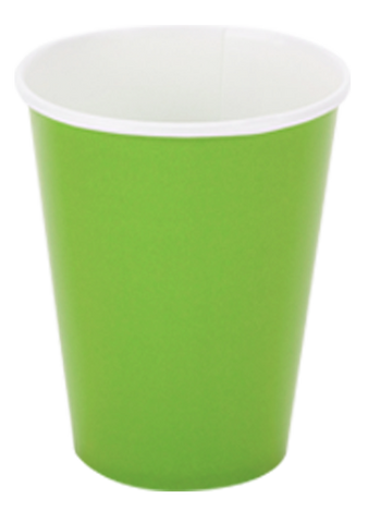 Citrus Green Party Cups 24per pkt