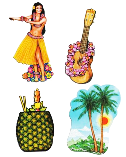 luau tropical cutouts just party just party supplies nz
