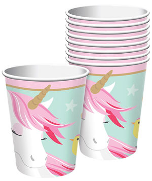 Magical Unicorn Party Cups