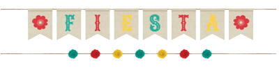 Mexican Fiesta Banner Kit NZ
